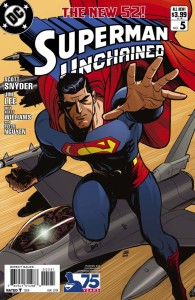 SUPERMAN UNCHAINED #5 75TH ANNIV VAR ED MODERN AGE