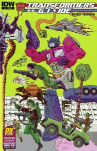 SDCC 2014 TRANSFORMERS VS GI JOE #1 CVR B