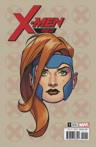 X-MEN RED #1 CHAREST LEGACY HEADSHOT VAR LEG