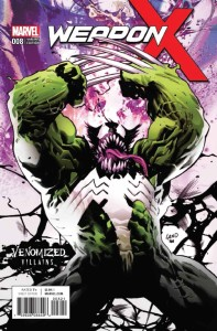 WEAPON X #8 VENOMIZED WEAPON H VAR