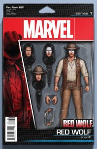 RED WOLF #1 CHRISTOPHER ACTION FIGURE VAR