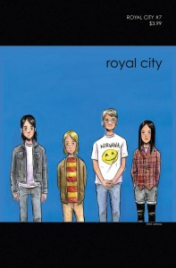 ROYAL CITY #7 CVR B 90S ALBUM HOMAGE VAR