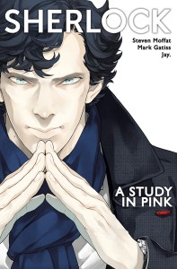 SHERLOCK A STUDY IN PINK TP