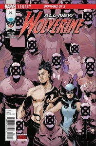 ALL NEW WOLVERINE #27 LEG