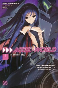 ACCEL WORLD NOVEL SC VOL 11 CARBIDE WOLF