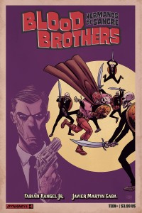 BLOOD BROTHERS #4 (OF 4)