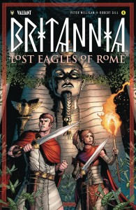 BRITANNIA LOST EAGLES OF ROME #4 (OF 4) CVR B GILL