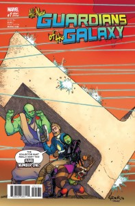 ALL NEW GUARDIANS OF GALAXY #1 KUDER VAR