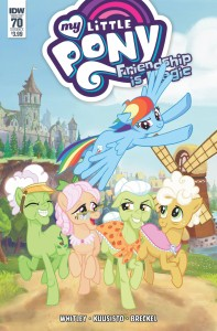MY LITTLE PONY FRIENDSHIP IS MAGIC #70 CVR A KUUSISTO