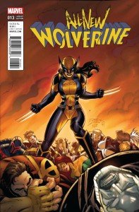 ALL NEW WOLVERINE #13 LIM CLASSIC VAR