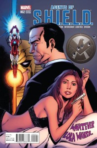AGENTS OF SHIELD #2 SEELEY VAR