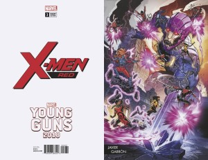 X-MEN RED #3 GARRON YOUNG GUNS VAR LEG