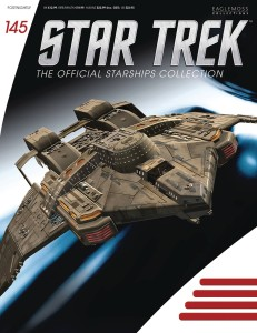 STAR TREK STARSHIPS FIG MAG #145 NIGHTINGALE