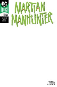 MARTIAN MANHUNTER #1 (OF 12) BLANK VAR ED