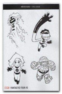 FANTASTIC FOUR #5 PARTY SKETCH VAR
