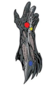WITCHBLADE GAUNTLET PIN