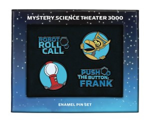 MYSTERY SCIENCE THEATER ENAMEL PIN SET