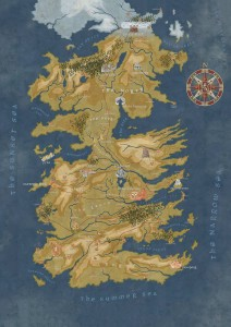 GOT CERSEI LANNISTER WESTEROS MAP