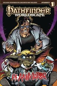 PATHFINDER WORLDSCAPE REANIMATOR ONE SHOT KS ED
