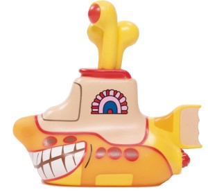 BEATLES TITANS YELLOW SUBMARINE SMILING SUB 6.5IN VIN FIG