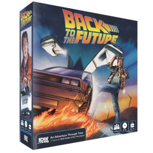 BACK TO THE FUTURE ADVENTURE THROUGH TIME BOARD GAME