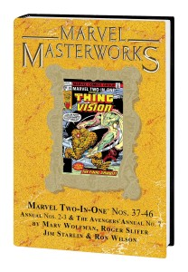 MARVEL MASTERWORKS MARVEL TWO IN ONE HC VOL 04 DM VAR