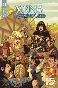 XENA WARRIOR PRINCESS #1 CVR B LUPACCHINO