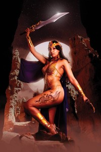 BARBARELLA DEJAH THORIS #4 VIRGIN COSPLAY VAR