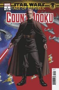 STAR WARS AOR COUNT DOOKU #1 MCKONE PUZZLE PC VAR