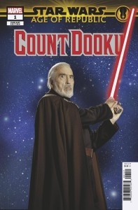STAR WARS AOR COUNT DOOKU #1 MOVIE VAR