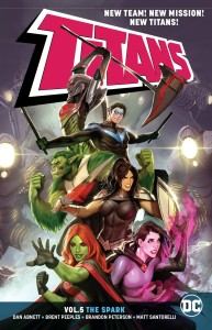 TITANS TP VOL 05 THE SPARK
