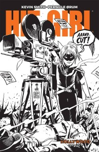 HIT-GIRL SEASON TWO #4 CVR B B&W FRANCAVILLA