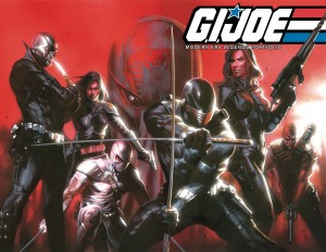 GI JOE MODERN ERA LEGENDS ART PORTFOLIO