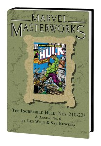 MARVEL MASTERWORKS INCREDIBLE HULK HC VOL 13 DM VAR