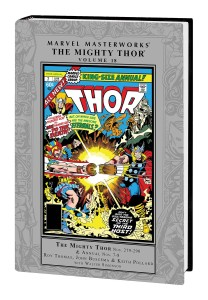 MARVEL MASTERWORKS MIGHTY THOR HC VOL 18