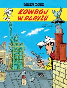 Lucky Luke Tom 82 Kowboj w Paryżu
