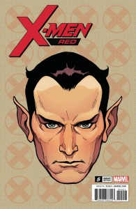 X-MEN RED #5 CHAREST HEADSHOT VAR