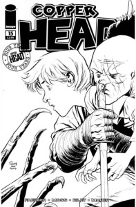 COPPERHEAD #15 CVR C B&W WALKING DEAD #58 TRIBUTE VAR