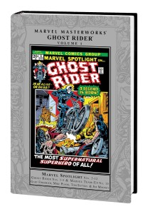 MARVEL MASTERWORKS GHOST RIDER HC VOL 01