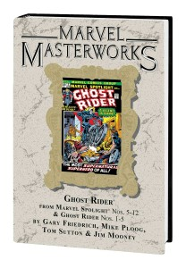 MARVEL MASTERWORKS GHOST RIDER HC VOL 01 DM VAR