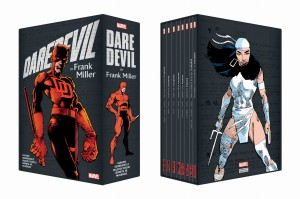 DAREDEVIL BY FRANK MILLER BOX SLIPCASE TP SET