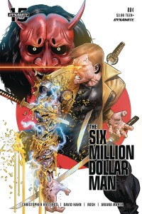 SIX MILLION DOLLAR MAN #4 CVR C GEDEON