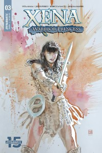 XENA WARRIOR PRINCESS #3 CVR A MACK