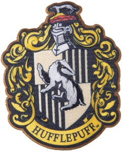 HARRY POTTER HUFFLEPUFF PATCH