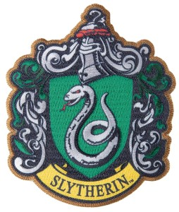 HARRY POTTER SLYTHERIN PATCH