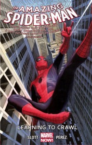 AMAZING SPIDER-MAN TP VOL 1.1 LEARNING TO CRAWL