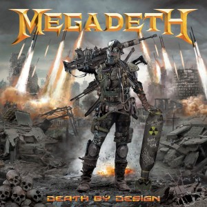 MEGADETH DEATH BY DESIGN HC WITH VINYL