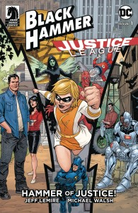 BLACK HAMMER JUSTICE LEAGUE HAMMER OF JUSTICE #1 (OF 5) CVR C PAQUETTE