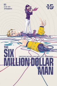 SIX MILLION DOLLAR MAN #5 CVR A WALSH