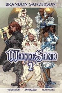 BRANDON SANDERSON WHITE SAND TP VOL 02